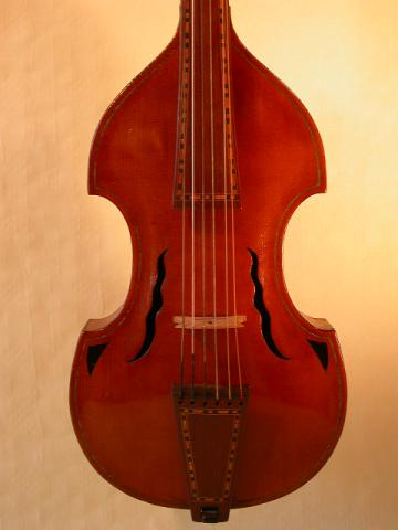 Viola d'amore by BAZIN  RENE, Lille, 1933, More Informations...
