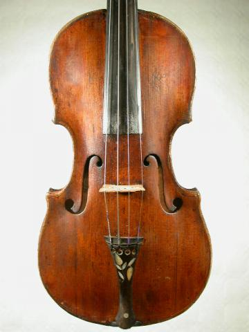VIOLIN FROM GERMAN SCHOOL 19° C., More Informations...