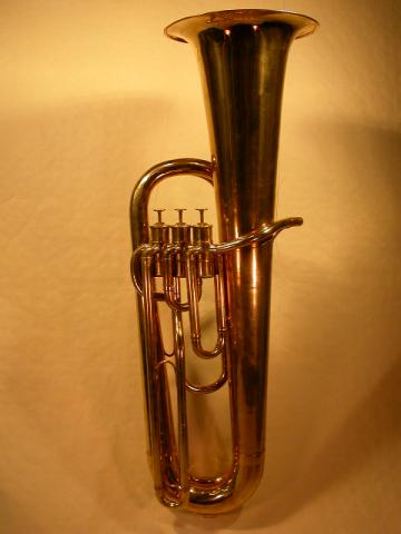 CONTREBASS  SAXHORN   BY  ADOLPHE  SAX, More Informations...