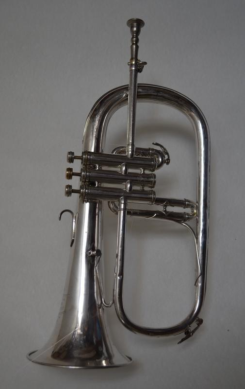 FLUGELHORN  BY   COUESNON, More Informations...