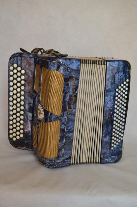 CHROMATIC  ACCORDION BY  MAUGEIN FRERES, More Informations...