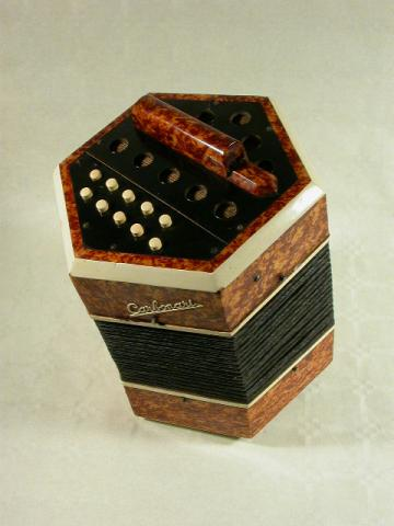 CONCERTINA  BY CARBONARI  IN CASTELFIDARDO, More Informations...