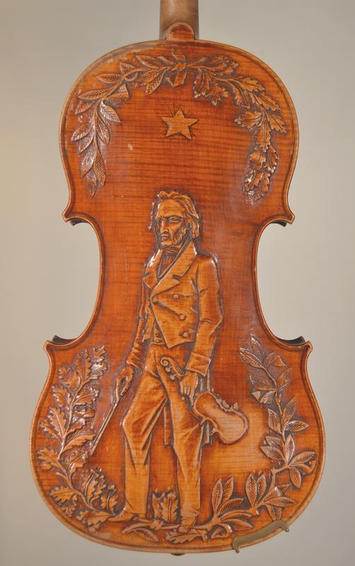 Violon de Justin DERAZEY, Mirecourt c.1870, Plus d'infos...