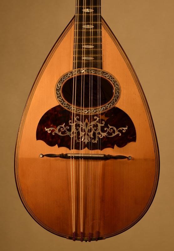 MANDOLINE DE GENNARO ET ACHILLE VINACCIA NAPLES 1896, Plus d'infos...