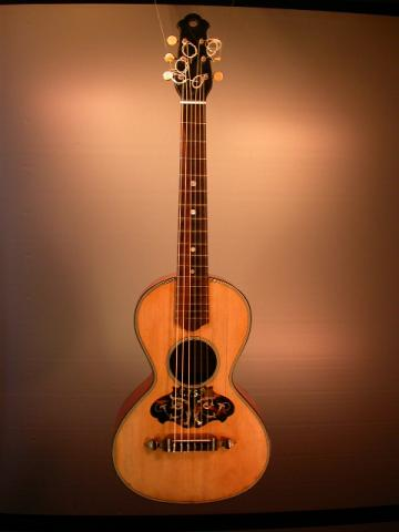 TERZ GUITAR by GUIDOBALDI  AMEDEO, NICE 1917, More Informations...