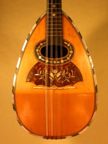 MANDOLIN BY MANGENOT AND PRONIER, More Informations...