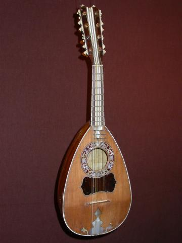 Mandolin by VINACCIA Joannes, Naples 1770, More Informations...