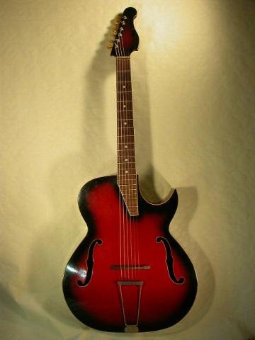 JAZZ GUITAR BY COUESNON c. 1965, More Informations...